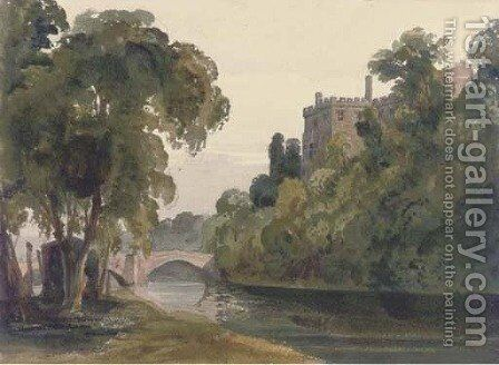 Blarney Castle, Cork by Harriet Cheney - Reproduction Oil Painting