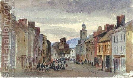 Carrick from the inn by Harriet Cheney - Reproduction Oil Painting