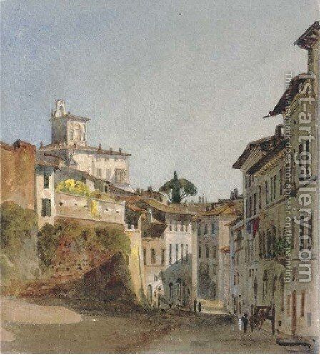 Casa Dies, Rome by Harriet Cheney - Reproduction Oil Painting