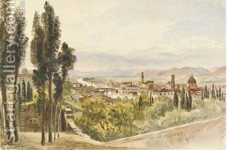 Florence by Harriet Cheney - Reproduction Oil Painting