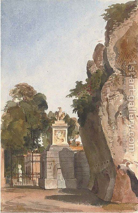 Muro Torto, Rome by Harriet Cheney - Reproduction Oil Painting