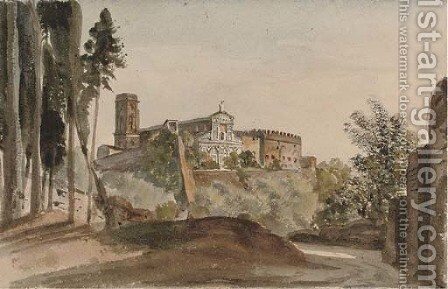S. Miniato, Florence by Harriet Cheney - Reproduction Oil Painting