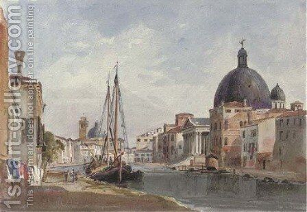 S. Simeon Piccolo, Venice by Harriet Cheney - Reproduction Oil Painting