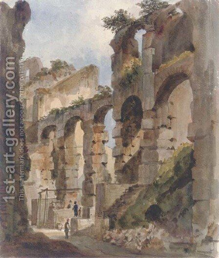 The Colosseum, Rome by Harriet Cheney - Reproduction Oil Painting