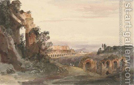 The Palazzo de' Cesari, Verona by Harriet Cheney - Reproduction Oil Painting