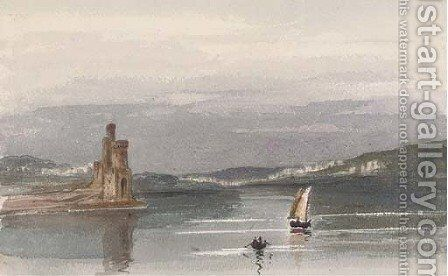 View of Bantry Bay, Cork by Harriet Cheney - Reproduction Oil Painting