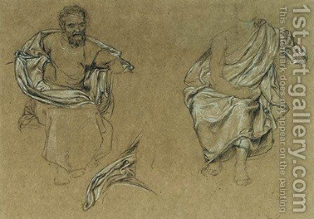 Three studies for the Grill Room of the South Kensington Museum by Sir Edward John Poynter - Reproduction Oil Painting