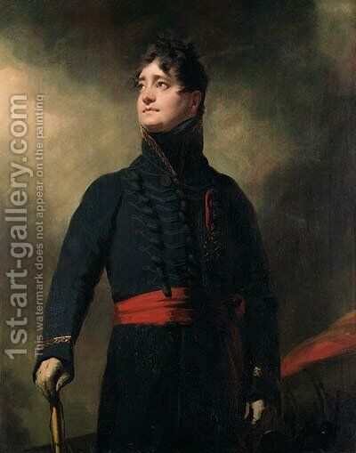 Portrait of James, 4th Earl of Fife (1776-1857) by Sir Henry Raeburn - Reproduction Oil Painting