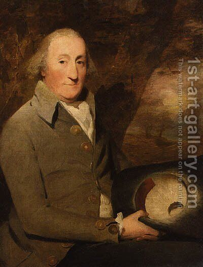 Portrait of Major Buchanan of Arnprior by Sir Henry Raeburn - Reproduction Oil Painting