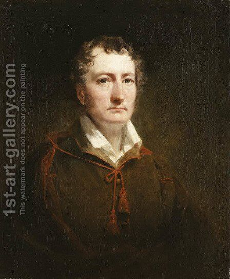 Portrait of William Stirling of Cordale (1780-1847) by Sir Henry Raeburn - Reproduction Oil Painting