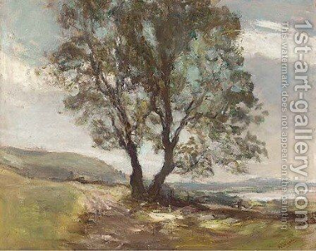 The lone tree by James Lawton Wingate - Reproduction Oil Painting