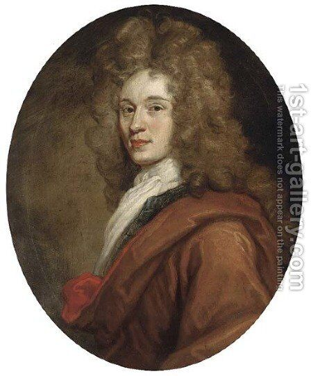 Portrait of James Graham (1682-1742), 1st Duke of Montrose by Sir John Baptist de Medina - Reproduction Oil Painting