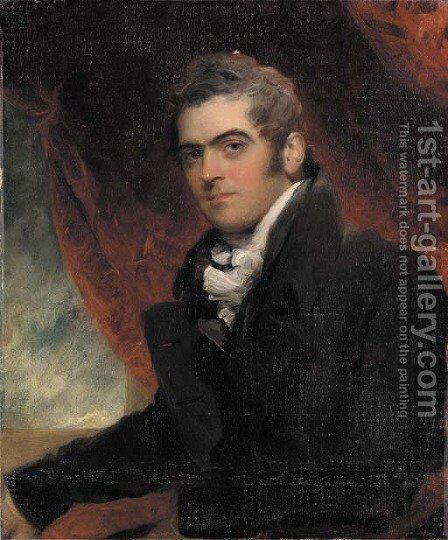 Portrait of William Dacres Adam by Sir Thomas Lawrence - Reproduction Oil Painting