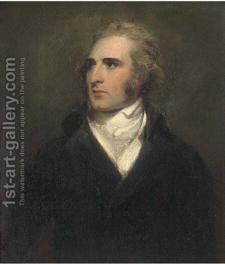 Portrait of John Philip Kemble (1757-1823) by Sir Thomas Lawrence - Reproduction Oil Painting