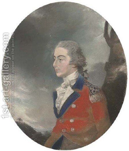 Portrait of Lieutenant Robert Morris by Sir Thomas Lawrence - Reproduction Oil Painting