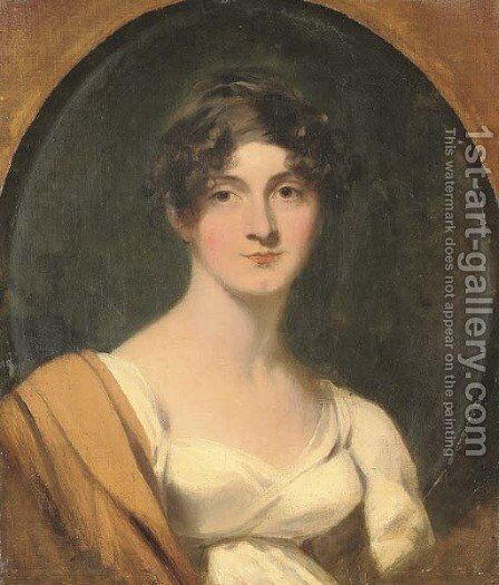 Portrait of Mrs Jordan by Sir Thomas Lawrence - Reproduction Oil Painting