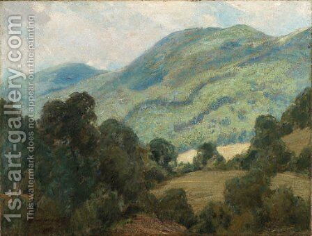 Rolling Hills by Emil Carlsen - Reproduction Oil Painting