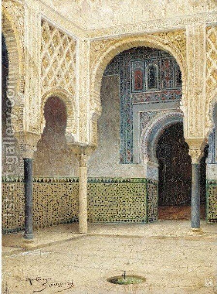 Montenegro y Capel, Seville by Spanish School - Reproduction Oil Painting