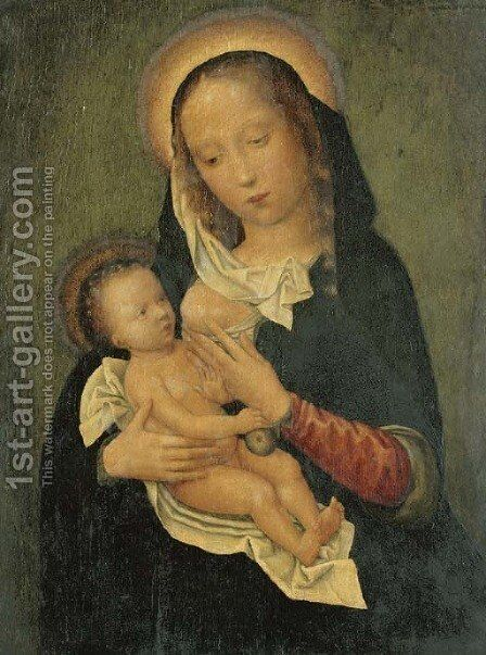 The Virgin and Child by (after) Adriaen Isenbrandt (Ysenbrandt) - Reproduction Oil Painting