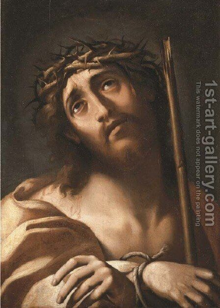 Ecce Homo by (after) Annibale Carracci - Reproduction Oil Painting