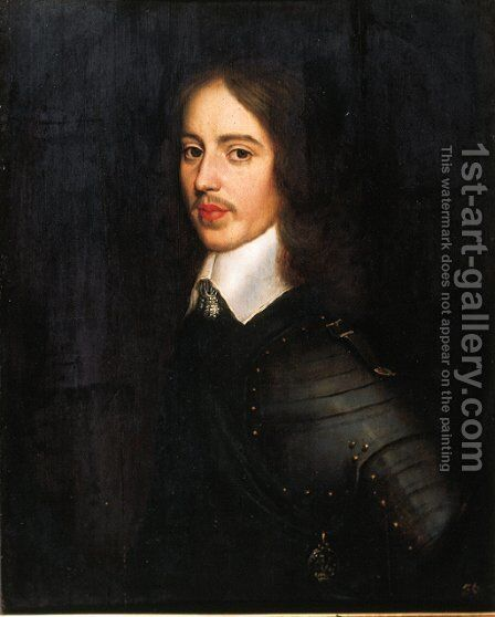 Portrait of the Stadholder William II (1626-1650) by (after) Honthorst, Gerrit van - Reproduction Oil Painting