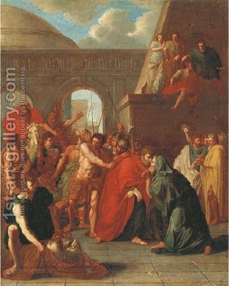 Saint James the Greater by (after) Noel-Nicolas Coypel - Reproduction Oil Painting