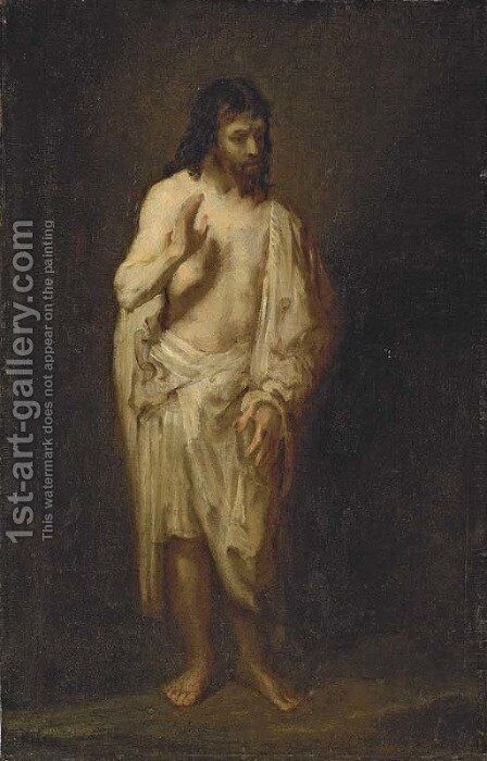 The Risen Christ by (after) Harmenszoon Van Rijn Rembrandt - Reproduction Oil Painting