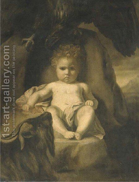 The Infant Jupiter by (after) Sir Joshua Reynolds - Reproduction Oil Painting