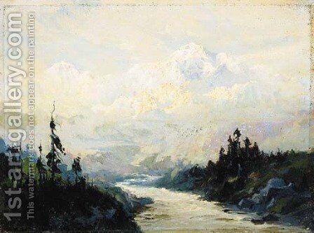 Mount McKinley, Alaska by Sidney Laurence - Reproduction Oil Painting