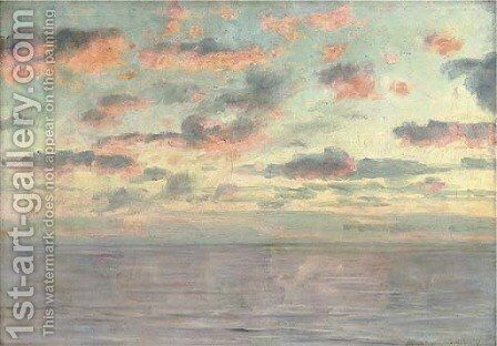 Sea and sky by Alexander Thomas Harrison - Reproduction Oil Painting