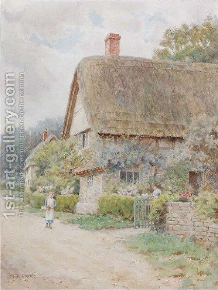 Little Comberton, Worcester by Thomas Nicholson Tyndale - Reproduction Oil Painting