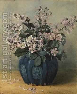 Blackberry Blossoms by Mary E. Butler - Reproduction Oil Painting