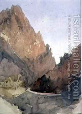 The Gate of the Desert by Mary Teshmaker Busk - Reproduction Oil Painting