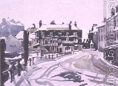 Winter at Isleworth by Adrian Bury - Reproduction Oil Painting