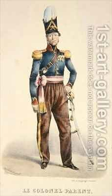 Colonel Pierre Joseph Parent by Burggraaf - Reproduction Oil Painting