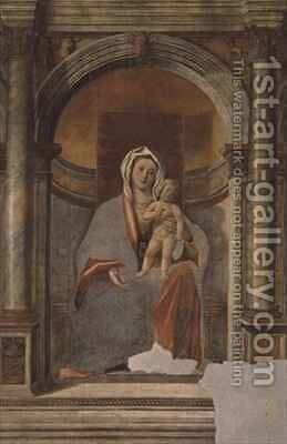 Madonna and Child by Giovanni Buonconsiglio - Reproduction Oil Painting