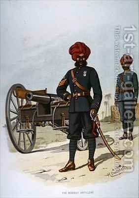 The Bombay Artillery by H. Bunnett - Reproduction Oil Painting