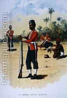 The 11th Bengal Native Infantry by H. Bunnett - Reproduction Oil Painting