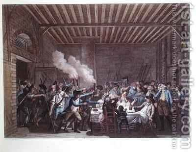 The Arrest of Louis XVI (1754-93) at Varennes by (after) Bulthuis, Jan - Reproduction Oil Painting