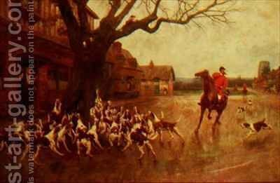 A Refuge in Distress by E. and Freyburg, F.P. Bucknall - Reproduction Oil Painting