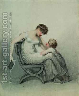 Mother and Child by Adam Buck - Reproduction Oil Painting