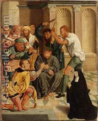 The Passion of Christ by Bartholomaeus, the Elder Bruyn - Reproduction Oil Painting