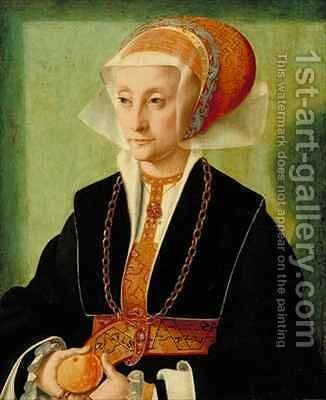 Portrait of a Lady 2 by Bartholomaeus, the Elder Bruyn - Reproduction Oil Painting