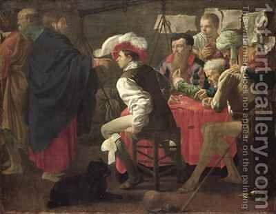 The Calling of St. Matthew by Hendrick Ter Brugghen - Reproduction Oil Painting