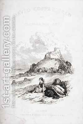 Title page illustration from 'David Copperfield' by Hablot Knight Browne - Reproduction Oil Painting