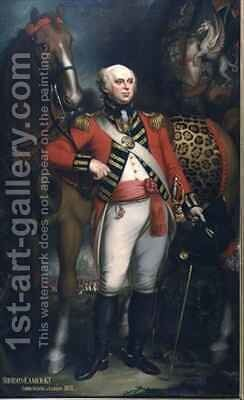 Portrait of Sir John Eamer, Lord Mayor of London by Mather Brown - Reproduction Oil Painting