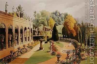 Alton Gardens by E. Adveno Brooke - Reproduction Oil Painting