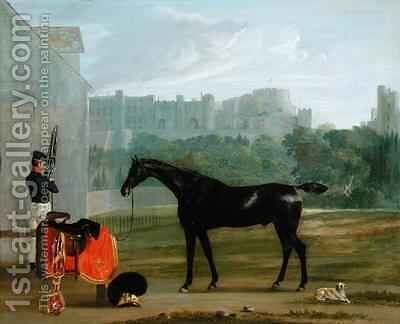 Outside the Guard House at Windsor by Edmund Bristow - Reproduction Oil Painting
