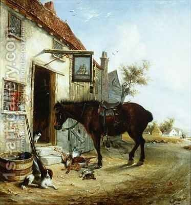 The Sportsman's Return by Edmund Bristow - Reproduction Oil Painting