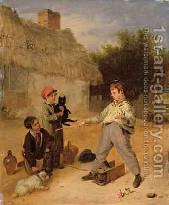 The Rat Trap by Edmund Bristow - Reproduction Oil Painting